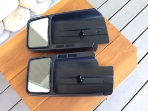 Camper mirrors fit Ford 2004-2014