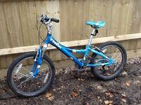 """Girls TREK MT 60 bike. 20"""" wheels. Good condition."""
