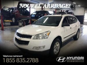 CHEVROLET TRAVERSE 2010 1LS + 117 898 KM + MAGS + CRUISE + A/C +