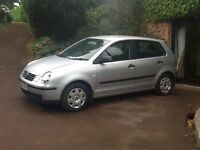 VW POLO 1.2S, METALIC SILVER, 5 door, full service history, one years MOT, just had service.