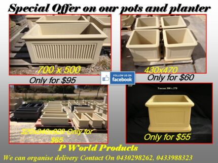 Sandstone Pots, Planters, Birdbaths and Garden Bench for Sale Landsdale Wanneroo Area Preview