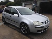 ** NEWTON CARS ** 04 54 VW GOLF 1.9 TDI S, 5 DR, ATI, ALLOYS, MOT JUN 2019, P/EX POSS, CALL US