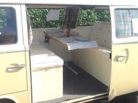 VW T2 Bay Campervan 1974 RHD