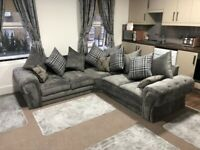 SALE SALE ON-- FACTORY PACKED VERONA CORNER SOFA AVAILABLE IN 3+2 SOFA SETS
