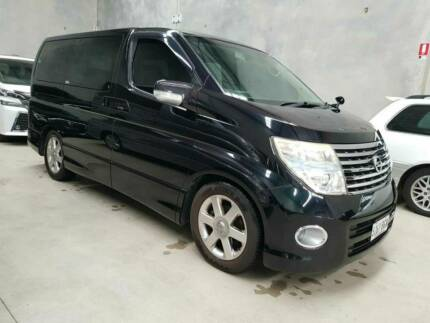 2003 Nissan Elgrand People Mover Gold Low Km Rego JDM 8 seats SUV ...