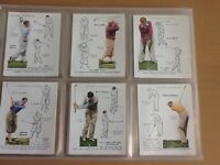 Players cigarette card set - Golf - complete set of 25 original