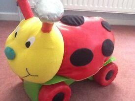 ELC ladybird Ride On