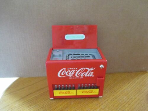 "Coca-Cola Die Cast Metal ""Things Go Better With Coke"" Bank & Music Box"
