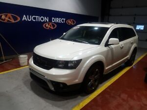 2016 Dodge Journey Crossroad 7 PASS, AWD, NAVI, SUNROOF, LEATHER