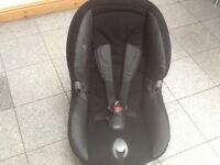 Maxi Cosi group 1 car seat for 9kg upto 18kg(9mths to 4yrs)-washed & cleaned in excellent condition