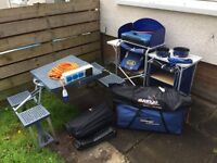 Job lot of camping equipment