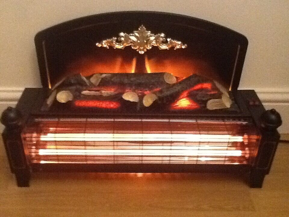 Dimplex Two Bar Electric Fire With Log Effect