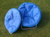 Childs folding camping chairs