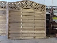 3 New Fencing Panels