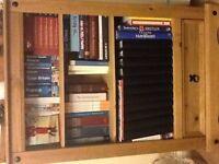 Bookshelf with draw