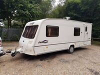 2006 Bailey Pageant Bretange 6 Berth caravan FIXED BUNK BEDS, Awning, VGC !