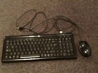 Logitech key board and mouse