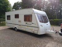 Lunar Freelander EB 4 berth caravan 2004 Fixed Double Bed, Awning, BARGAIN!