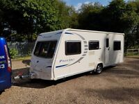 2010 Bailey Pageant Bretagne 6 Berth caravan FIXED BUNK BEDS, Awning, VGC !