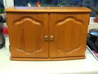 Wooden Pine Bathroom Cabinet