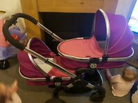 I candy peach 3 double buggy