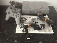 SONY PlayStation Console with 5 games - £40