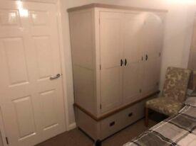 Oak Furniture Land Kemble Range Triple Wardrobe