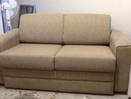 Brand new sofa folds out to double bed Zillmere Brisbane North East Preview
