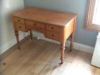 Pine dressing table- desk