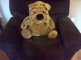 Shar pei soft toy Large post not included