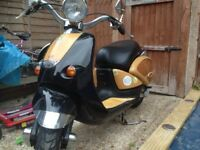 Aprilia Habana Mojito 50cc Scooter Moped Woody-Surf Style Mot May 2019 Fun Bike Read Ad