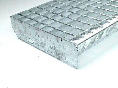 Gitterrost Treppenstufen,1000 x 240 mm,Tragstäbe 30 x 2 mm