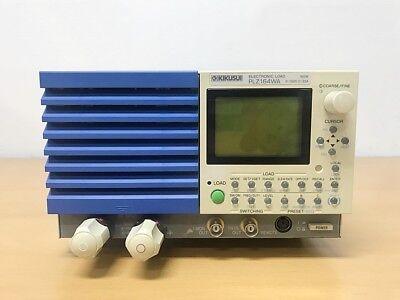 Kikusui Plz164wa 0-150v 0-33a 165w Electronic Load