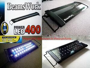 Beamswork aquarium hi lumen Power LED 400 light lamp 60 - 80 cm 24