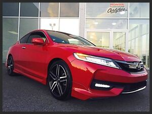 HONDA ACCORD TOURING 2016 ~ CUIR | GPS | TOIT OUVRANT | MAGS 19'