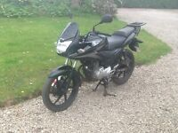 Honda Cbf 125cc black 09 low mileage Learner Legal