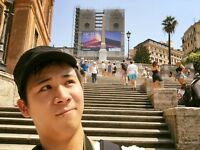 I am Japanese man and looking for nice flat.