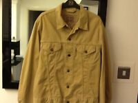 Mens Levi cordiroy jacket