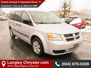 2008 Dodge Grand Caravan SE *LOW MILEAGE FOR THE YEAR*