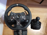 Logitech G920 Wheel Xbox One And Wheel Stand Pro NEW NEVER USED