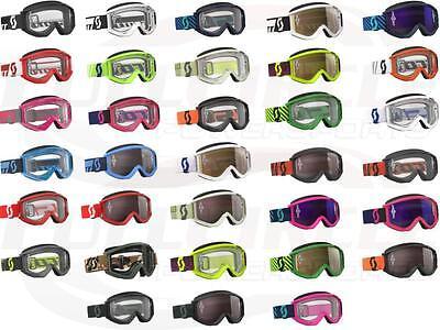 Scott Usa Goggle (Scott USA Recoil Xi Adult Goggle Dirt Bike Motocross MX ATV UTV Lexan Lens )