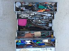 Canter lever tool box full of tools Spreyton Devonport Area Preview