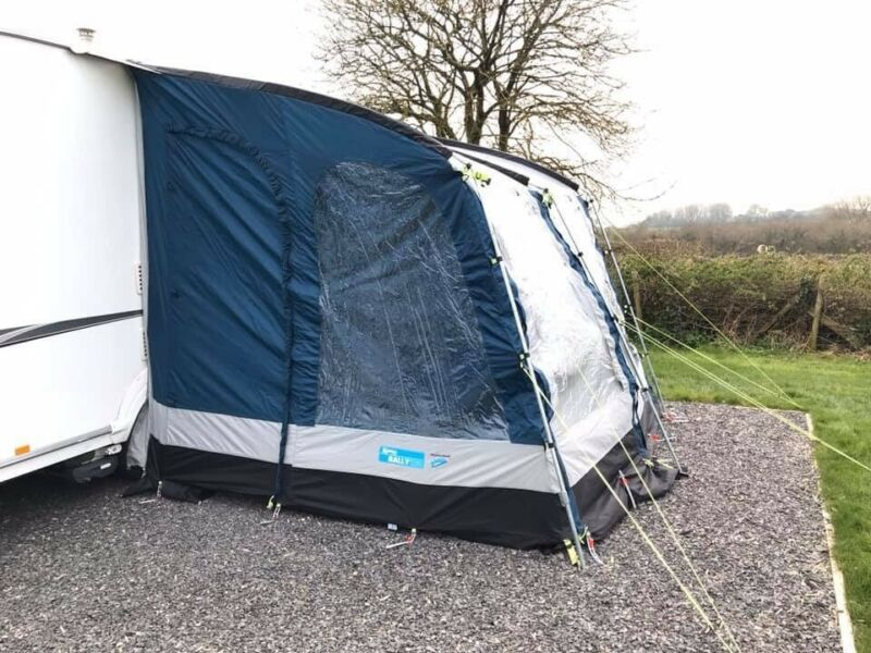 Kampa Rally Pro 260 Awning  for sale  Chippenham, Wiltshire