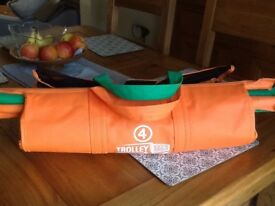 4 Original Shopping bags that fit into shopping trolley