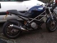 Ducati Monster M620 2002 swap part ex car can bike
