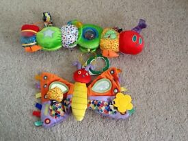 Lovely large Eric Carle Hungry Caterpillar baby toys
