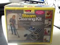 Steam cleaning kit to clear cheap reduced