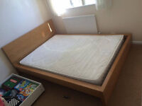 Double bed with John Lewis Mattres