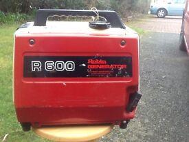 Robin R600 portable generator