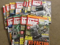 Bundle of Commercial Motor Magazines